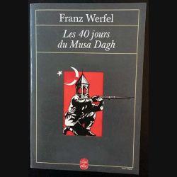 1. Les 40 jours du Musa Dagh de Franz Werfel aux éditions Albin Michel