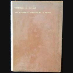 1. Mémoires de J. Fouché Duc d'Otrante, ministre de la police exemplaire n°1147