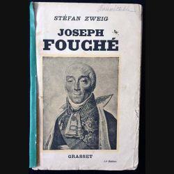 1. Joseph fouché de Stéfan Zweig aux éditions Grasset
