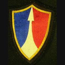 2°CA : 2°CORPS D'ARMÉE SANS CHIFFRE (TISSU)