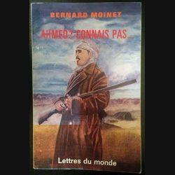 1. Ahmed ? Connais pas... de Bernard Moinet aux éditions Lettres du monde