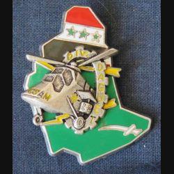 CSAM DAGUET : insigne de la compagnie de soutien aéromobile opération Daguet de fabrication Ballard G.4339