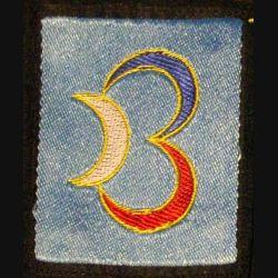 3° DB : insigne tissu de la 3° division blindée