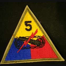 USA : 5° Armored division US army patch