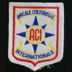 ACI : AMICALE CULTURELLE INTERNATIONALE