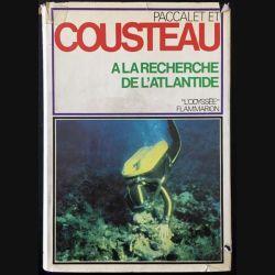 1. A la recherche de l'atlantide de Jacques-Yves Cousteau et Yves Paccalet aux éditions Flammarion