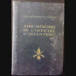 1. Aide mémoire de l'officier d'infanterie