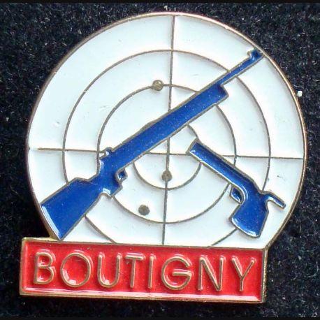 PIN'S VILLE REGIONS : Pin's club de tir de Boutigny
