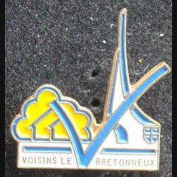 PIN'S VILLE REGIONS : Pin's de Voisins Le Bretonneux