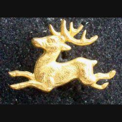 PIN'S BIJOUX ANIMAUX : Pin's chevreuil en métal doré