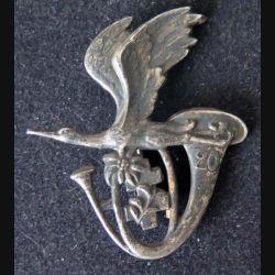 20° BCA : insigne métallique du 20° bataillon de chasseurs alpins de fabrication Drago Paris H. 126