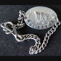 24° GCM : bracelet métallique du 24° groupe de chasseurs mécanisés