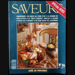 1. Saveurs n°26 Décembre 92 Janvier 93 - Spécial fête