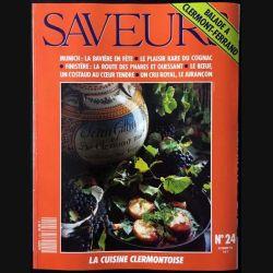 1. Saveurs n°24 Octobre 92 - Balade à Clermont-Ferrand