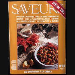 1. Saveurs n°23 Septembre 92 - Spécial Vins