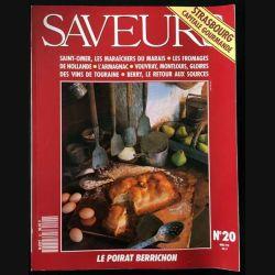 1. Saveurs n°20 Mai 92 - Strasbourg capitale gourmande