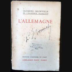 1. L'Allemagne Tome 2 de Jacques Bainville aux éditions Librairie Plon