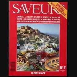 1. Saveurs n°7 Septembre - Octobre 1990 Spécial vins de Bordeaux