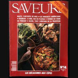 1. Saveurs n°14 Septembre 1991 Spécial vins
