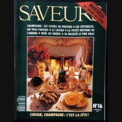 1. Saveurs n°16 Décembre 1991 Marseille la cuisine du soleil