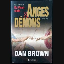 1. Anges et démons de Dan Brown aux éditions Jc Lattès