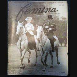 1. Femina n°101 - 1er Avril 1905 aux éditions Pierre Lafitte & Cie