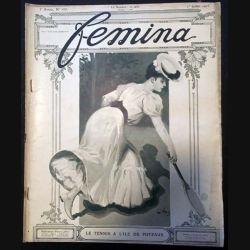1. Femina n°107 - 1er Juillet 1905 aux éditions Pierre Lafitte & Cie