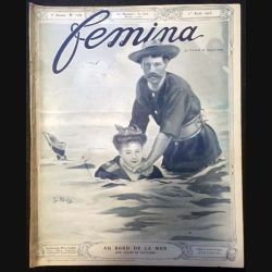 1. Femina n°109 - 1er Août 1905 aux éditions Pierre Lafitte & Cie