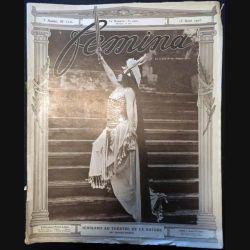1. Femina n°110 - 15 Août 1905 aux éditions Pierre Lafitte & Cie