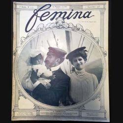 1. Femina n°111 - 1er Septembre 1905 aux éditions Pierre Lafitte & Cie