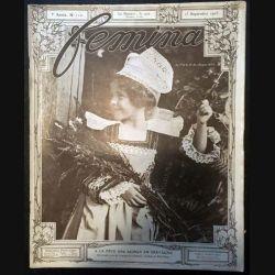 1. Femina n°112 - 15 Septembre 1905 aux éditions Pierre Lafitte & Cie