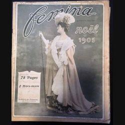 1. Femina n°117 - 1er Décembre 1905 aux éditions Pierre Lafitte & Cie
