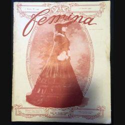 1. Femina n°144 - 15 Janvier 1907 aux éditions Pierre Lafitte & Cie