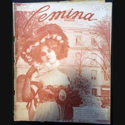 1. Femina n°146 - 15 Février 1907 aux éditions Pierre Lafitte & Cie