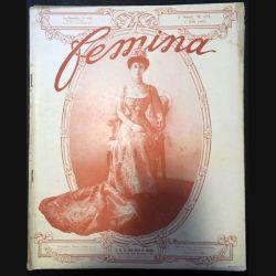1. Femina n°153 - 1er Juin 1907 aux éditions Pierre Lafitte & Cie