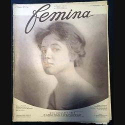 1. Femina n°159 - 1er Septembre 1907 aux éditions Pierre Lafitte & Cie