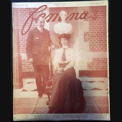 1. Femina n°164 - 15 Novembre 1907 aux éditions Pierre Lafitte & Cie