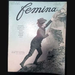 1. Femina n°182 - 15 Août 1908 aux éditions Pierre Lafitte & Cie
