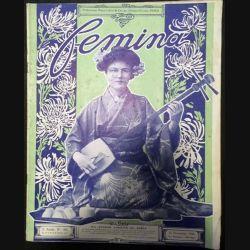 1. Femina n°188 - 15 Novembre 1908 aux éditions Pierre Lafitte & Cie