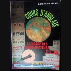 1. Cours d'anglais à l'usage des radio-amateur de L. Sigrand aux éditions Techniques & scientifiques française