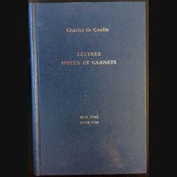 1. Lettres notes et carnets Mai 1945 - Juin 1951 de Charles de Gaulle aux éditions Plon
