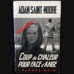 1. Coup de chaleur pour face d'ange de Adam Saint-Moore aux éditions Fleuve noir