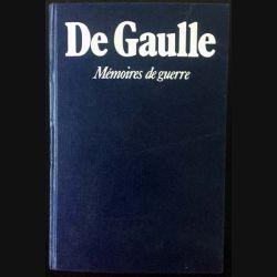 1. Mémoires de Guerre de Charles de Gaulle aux éditions Plon