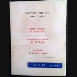 1. Bertolt Brecht Théâtre complet II aux éditions L'arche