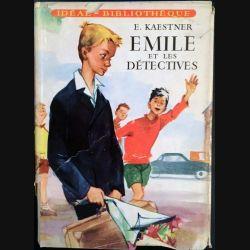 1. Emile et les détectives de E. Kaestner aux éditions Hachette