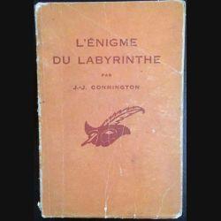 1. L'énigme du labyrinthe de J.-J Connington aux éditions librairie des Champs-Élysées