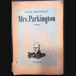 1. Mrs. Parkington de Louis Bromfield aux éditions Stock