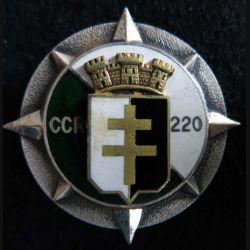 220° CCR : 220° compagnie de circulation routière Drago Paris en émail