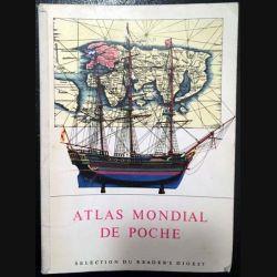 1. Atlas mondial de poche aux éditions Sélection du Reader's Digest
