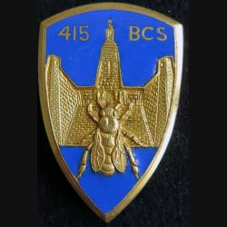 415° BCS : 415° Bataillon de Commandement et Services Arhus Bertrand G. 2279